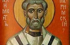 În această lună, în ziua a douăzeci şi treia, pomenirea sfântului mucenic Clement, episcopul Ancirei