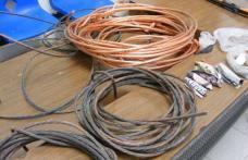 Furt şi distrugere de cablu din reţeaua telefonică