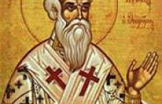 În această lună, în ziua a douăzeci şi noua, pomenirea aducerii moaştelor sfântului sfinţitului mucenic Ignatie, purtătorul de Dumnezeu (Teoforul)