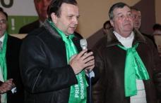 Gheorghe Flutur a fost prezent la Corni pentru lansarea candidatului PDL