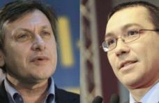 Victor Ponta şi Crin Antonescu bat astăzi palma