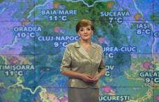 """Romica Jurca, prezentatoarea meteo cea mai longevivă din România: """"Şi nunta am făcut-o în funcţie de vreme"""""""