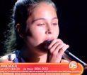 Adolescentă remarcată în Italia, în recital la Festivalul Mărţisor Dorohoian