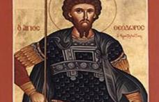 În această lună, ziua a opta, pomenirea sfântului măritului marelui mucenic Teodor Stratilat