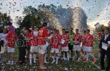 Fanfară, artificii și confeti: FCM Dorohoi a sărbătorit promovarea în Liga a II-a – VIDEO/FOTO