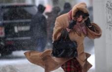 Meteorologii anunta viscol si ninsori