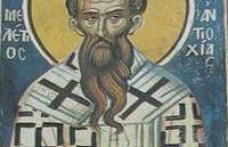 În această lună, ziua a douăsprezecea, pomenirea celui între sfinţi părintele nostru Meletie, arhiepiscopul Antiohiei celei mari