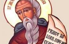 În această lună, ziua a paisprezecea, pomenirea preacuviosului părintelui nostru Auxenţiu, cel din munte