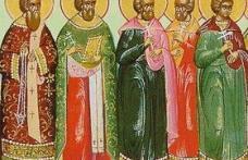 În această lună, ziua a şaisprezecea, pomenirea sfinţilor mucenici: Pamfil, Valent, Pavel, Seleuc, Porfiriu, Iulian, Teodul, Ilie, Ieremia, Isaia, Sam