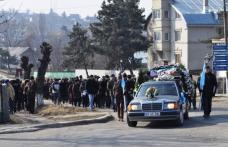 Durere fară margini astăzi la înmormântarea lui Ciprian-Gabriel Vrăjitoru