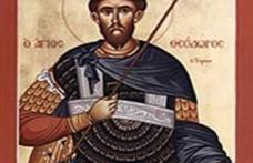 În această lună, ziua a şaptesprezecea, pomenirea sfântului marelui mucenic Teodor Tiron.