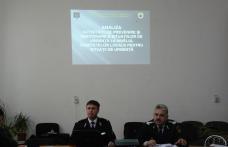 [VIDEO][FOTO] Instruire în domeniul situaţiilor de urgenţă cu primarii din municipii, oraşe şi comune efectuată de I.S.U. Botoşani