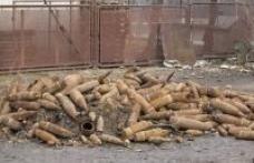 Sute de elemente de muniţie descoperite în judeţul Botoşani