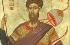 În această zi prăznuim minunea grâului fiert făcută de Sf. Mare Mucenic Teodor Tiron (prăznuit la 17 februarie).