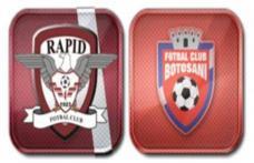 Rapid Bucureşti- FC Botoşani, astăzi la ora 20:30