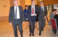 Întâlnire cu oameni de afaceri și autorități locale a ministrului Darius Vâlcov