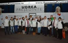 Un numeros grup de membrii PMP Botoșani, au participat la caravana pentru promovarea Elenei Udrea