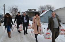Senatorul Doina Federovici a fost ajutorul lui Moș Crăciun - FOTO