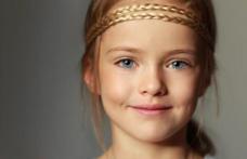 Cea mai frumoasă fată din lume la numai 8 ani. Cine este Kristina Pimenova