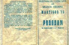 Certificatul de nastere al Festivalului Martisor Dorohoian