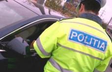 Autoturism cu număr fals de înmatriculare depistat în trafic