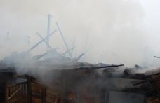 Adăpost de animale incendiat de un jar purtat de vânt