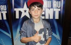 """Încă un dorohoian la """"Românii au talent""""! Iustin Mirel Cojocaru a făcut beatbox în fața a milioane de români"""