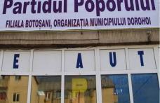 DECIZII : Vom da jos panoul cu sigla Partidul Poporului din Dorohoi