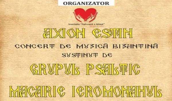 Botosan - concertul de muzică Bizantină