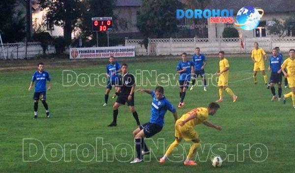 Inter Dorohoi a obținut primul punct în Liga a III-a împotriva celor de la Aerostar Bacău – FOTO