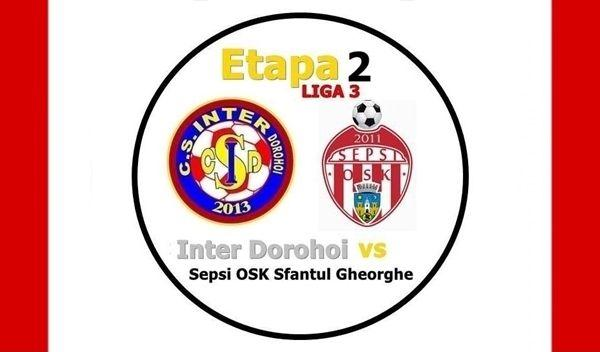 Inter Dorohoi - Sf. Gheorghe