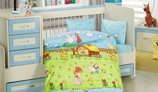 lenjeria de pat și prosoapele copiilor