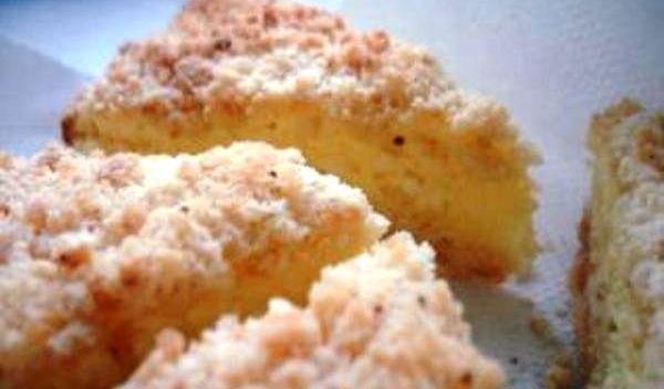 Prăjitură cu aluat sfărâmicios