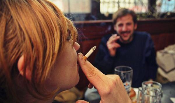 fumator bar