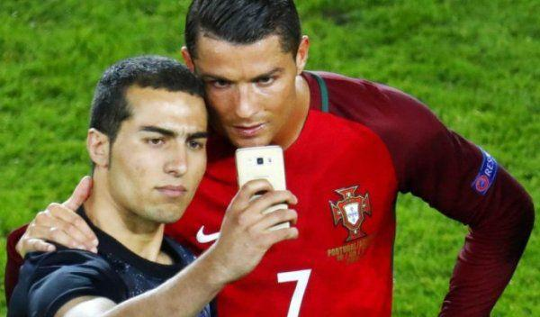 amenda selfie ronaldo