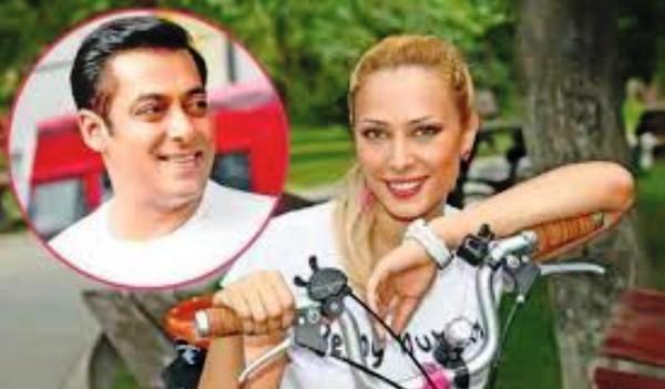 Iulia Vântur cu Salman Khan
