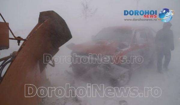 Accident la iesirea din Dorohoi_01