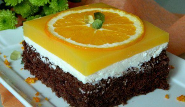Prăjitură cu cremă de Fanta