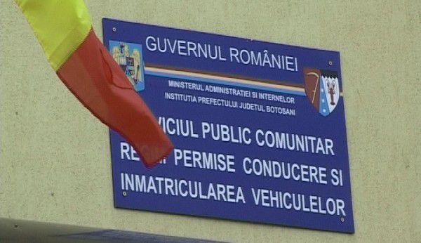 Serviciul de Permise şi Înmatriculări Auto Botoșani