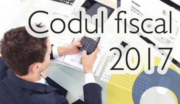 modificări Codul Fiscal
