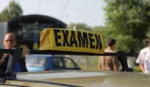 examenul pentru obținerea permisului