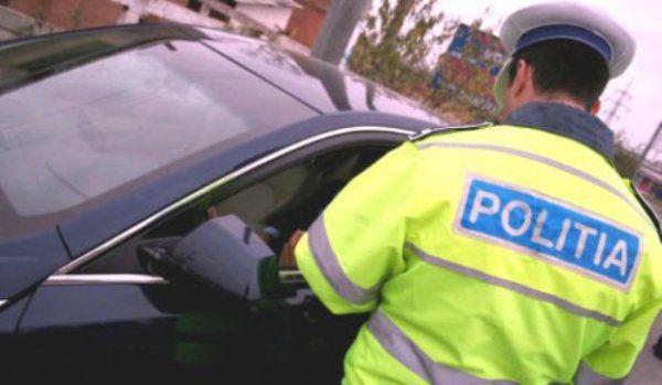 poliţist aflat la datorie