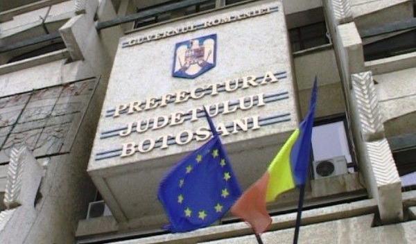 Instituţia Prefectului - judeţul Botoşani