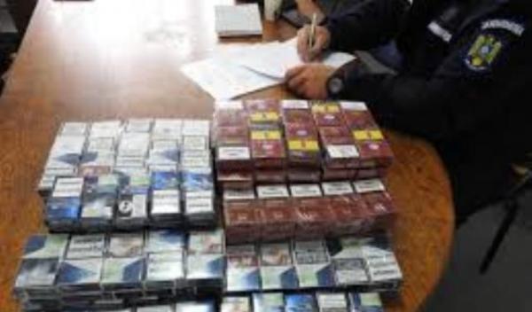 Jandarmi tigari contrabanda