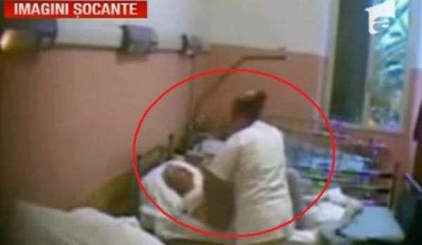 O infirmiera romanca a ingrozit Italia
