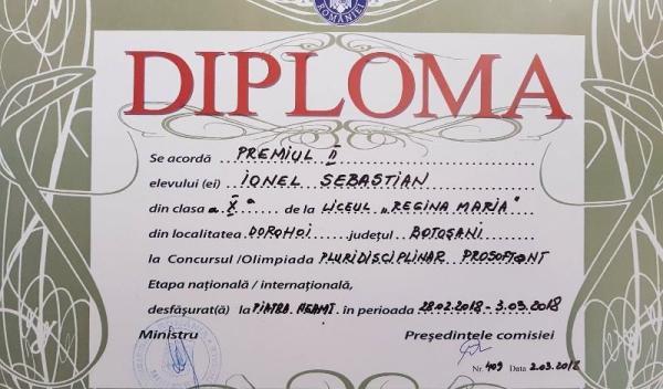 Sebi diploma