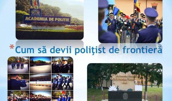 Cum să devii poliţist de frontieră