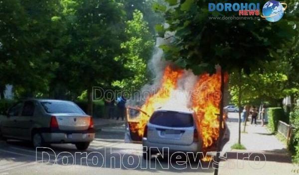 Incendiu auto Dorohoi_16