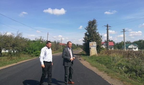 Vizită asfaltare drum judetean Dumeni - Havarna_2