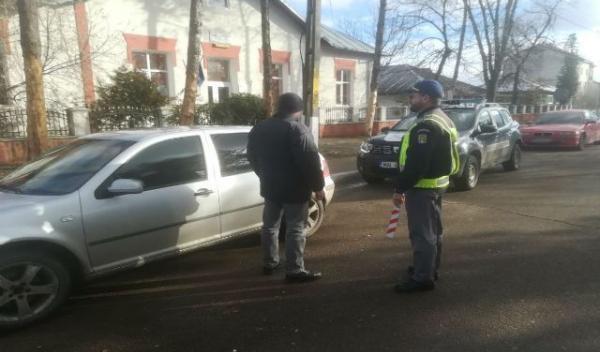 Minor depistat la volan de poliţiştii de frontieră